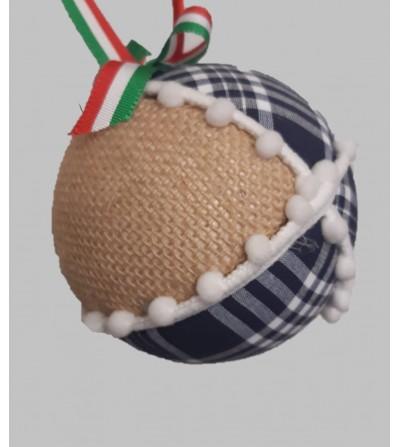 Bola-de-Navidad-personalizada-con- nombre- en tela-arrantzale